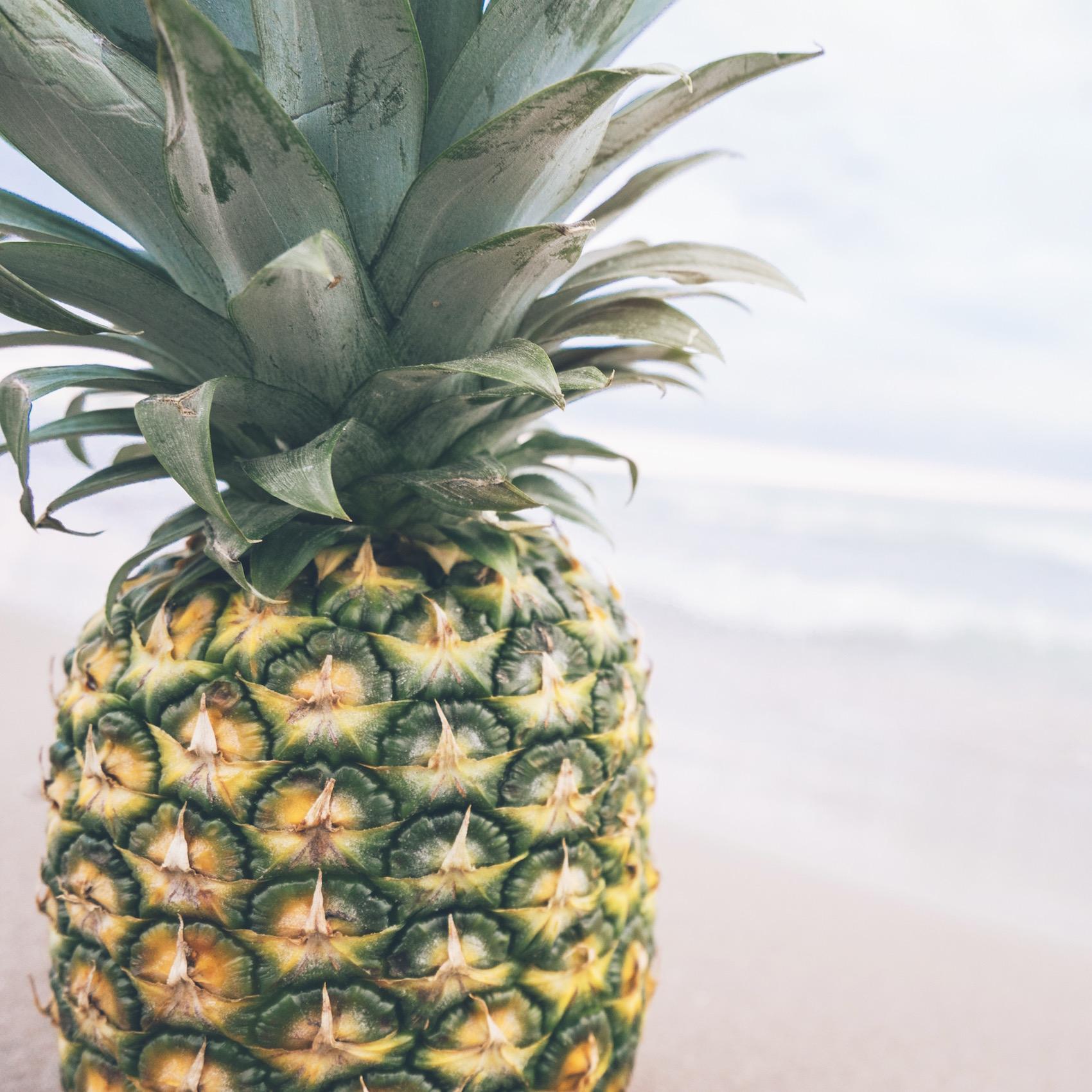 Ananas-Motiv