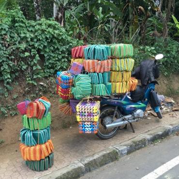 Roller fahren auf Bali