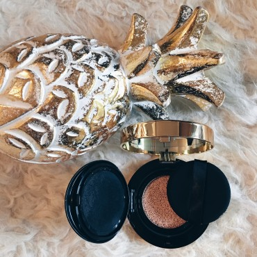 Beauty Test Cushion Foundation von YSL Suelovesnyc blog Le Cushion Encre de Peau YSL