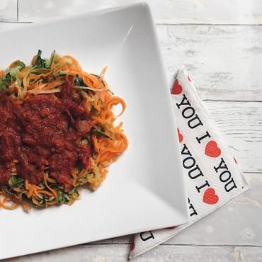 Glutenfreie Gemüse-Spaghetti Susan Fengler blog Sue loves NYC