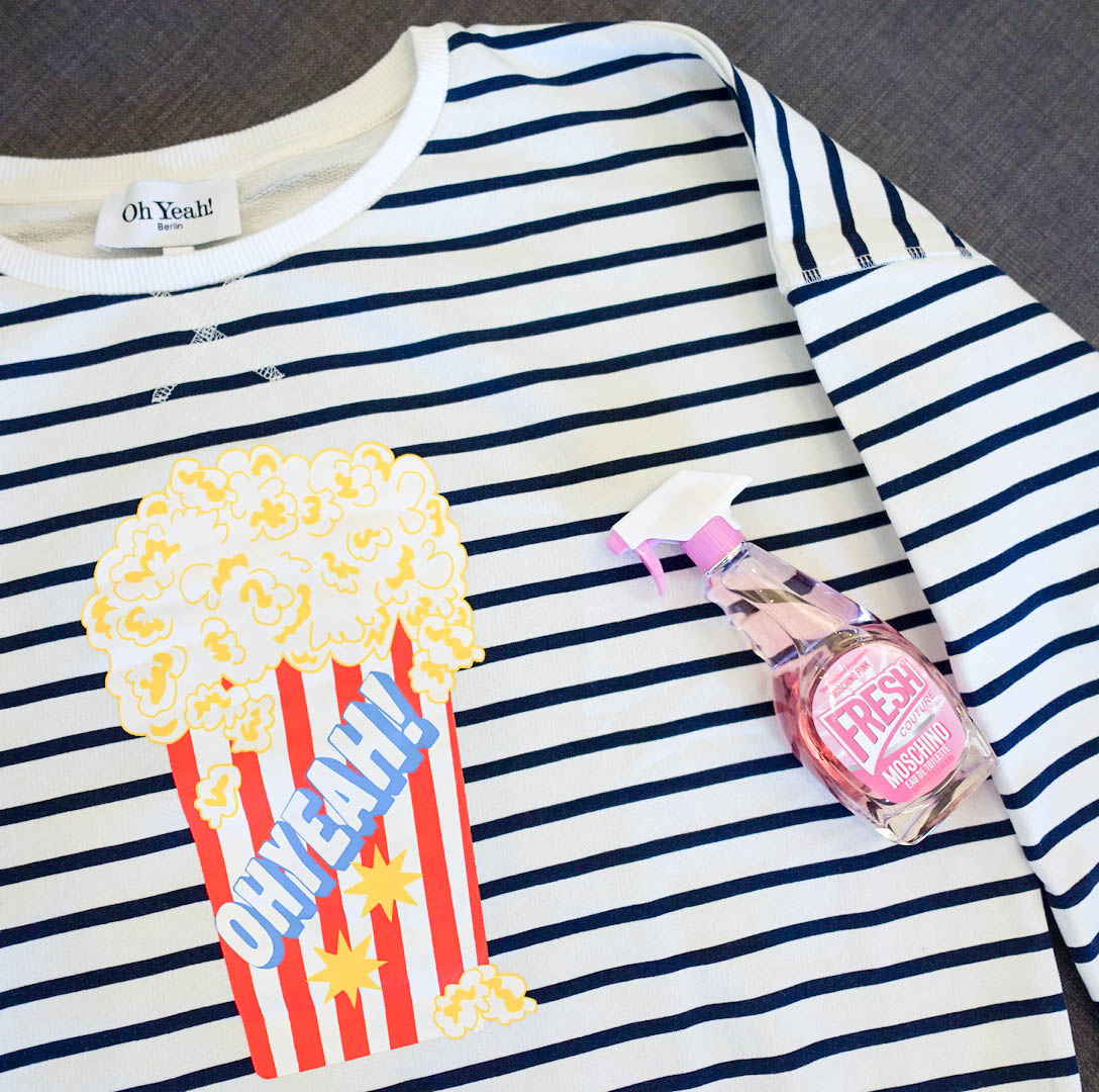 spaß fashion beauty suelovesnyc_sue_loves_nyc_moschino_pink_fresh_couture_ohyeah_popcorn_sweatshirt
