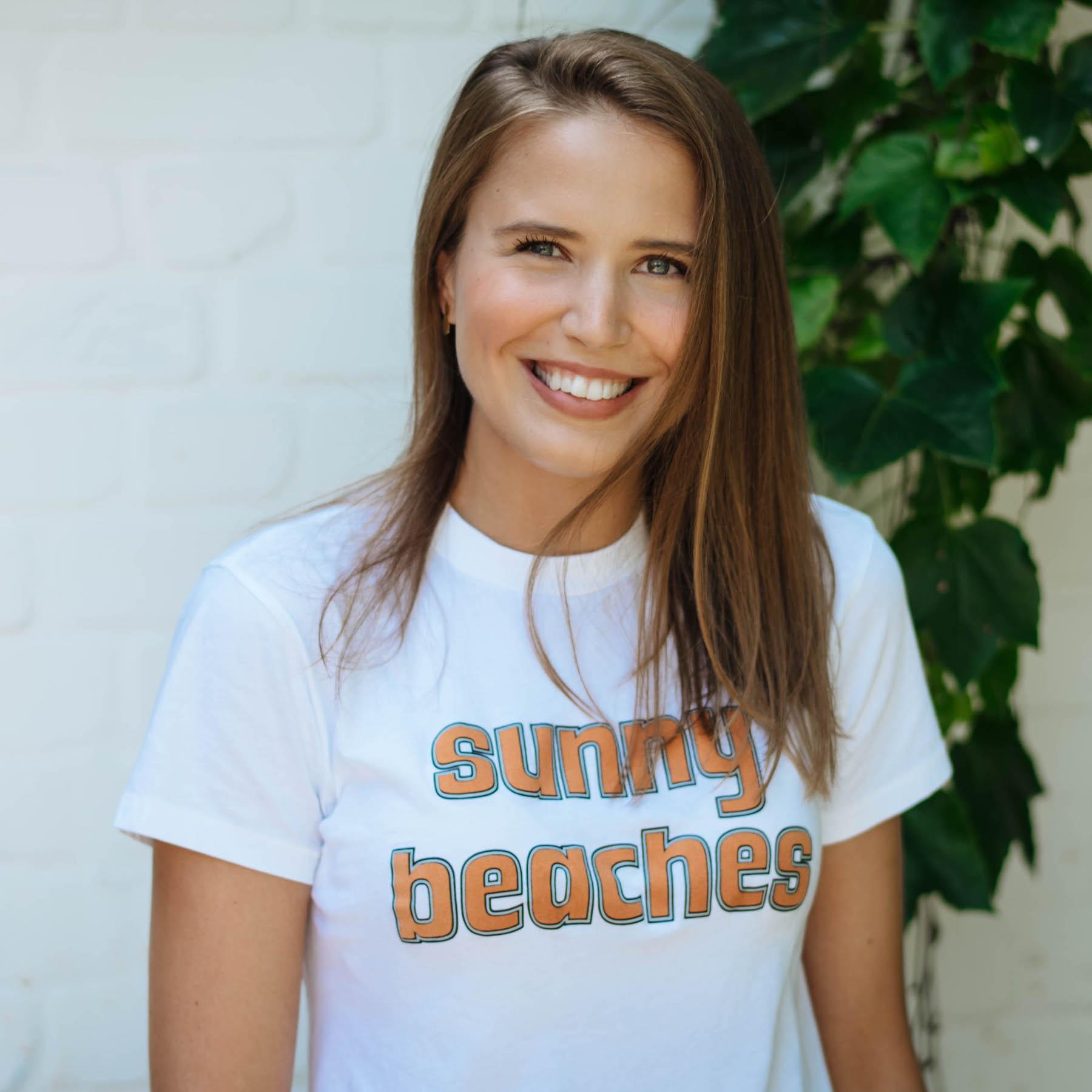 5 Dinge über mich suelovesnyc_susan_fengler_ganni_tshirt_sunny_beaches