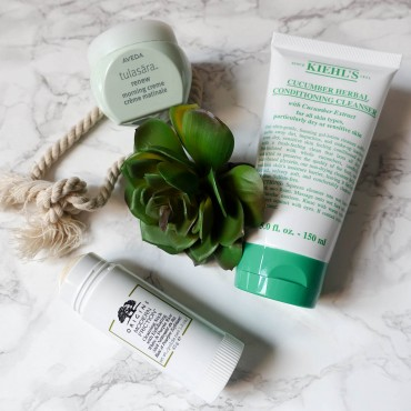 beauty-favoriten pflege-highlights suelovesnyc__origins_modern_friction_cleansing_stick_susan_fengler_blog_beauty_pflege_favoriten_adveda_tulasara_creme_kiehls_cucumber