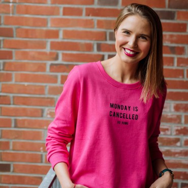 Monday is cancelled sweatshirt reserved suelovesnyc_susan_fengler_monday_is_cancelled_sweatshirt_reserved_weekly_update