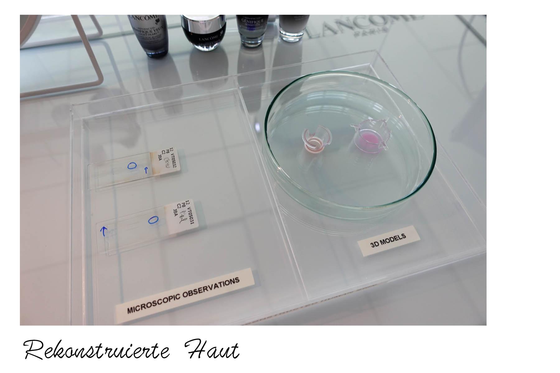 suelovesnyc_lancome_labor_rekonstruierte_haut Lancôme skincare lab