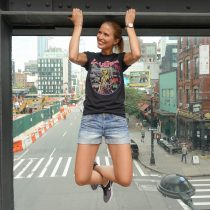 Sue loves NYC Highline Park Tv Dreh in New York mit Taff suelovesnyc_new_york_highline_park_tv_dreh_in_new_york_mit_taff
